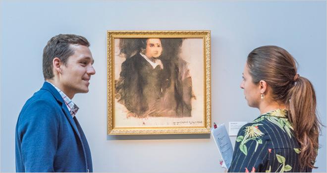 Por primera vez se subastó un cuadro creado por la IA y fue vendido por 380.000 euros
