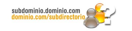 Subdominios para la organización de tu web
