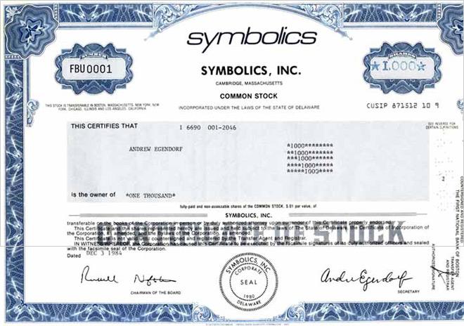 Se cumplen 30 años del primer dominio .com registrado: Symbolics.com