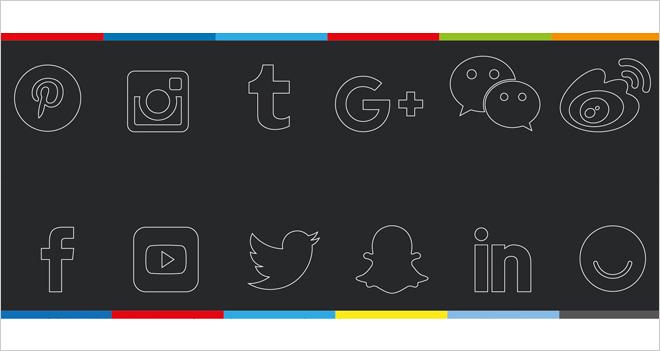 #Infografía Las medidas para las imágenes en redes sociales (2018)