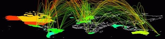 Para el año 2015, el tráfico de Internet se cuadruplicará