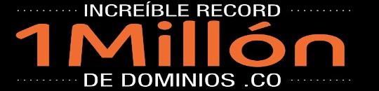 Dominios .CO supera el millón de registro en menos de un año