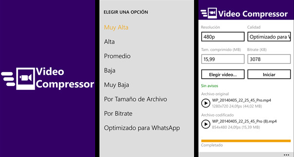 video-compressor-windows-phone-comprimir-vídeos-blog-hostalia-hosting