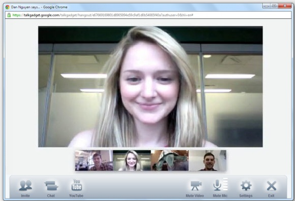 video conferencias hangouts google - blog hostalia hosting