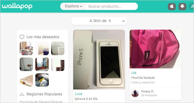 Mercadillo 2.0: webs y apps españolas que compiten con Wallapop