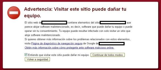 """Cómo resolver la advertencia de Google: """"Este sitio puede haber sido modificado por terceros"""""""