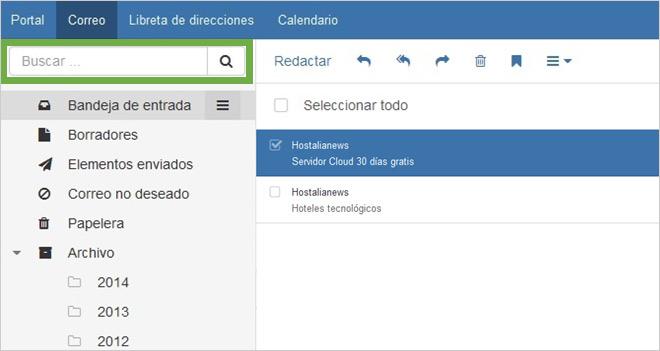 Guía de uso del nuevo Webmail