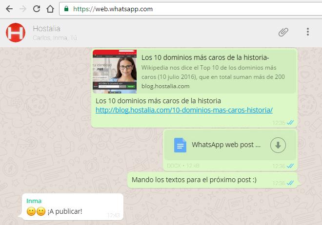 Ventajas de usar WhatsApp en tu ordenador