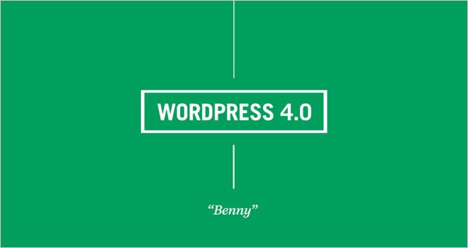 Las novedades de WordPress 4.0 Benny, ¿a qué esperas para actualizarte?