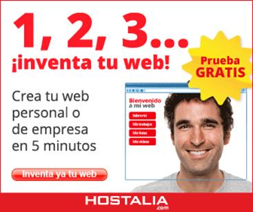 Inventa tu web en el eShow - blog de Hostalia hosting