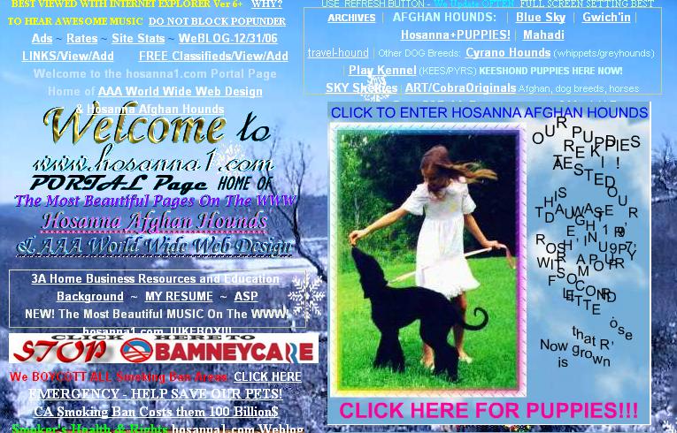 hossana - blog hostalia hosting