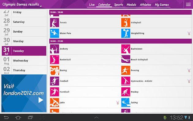 aplicacion oficial movil juegos olimpicos - blog hostalia hosting