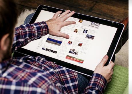 Sony Vaio Tap20 - blog hostalia hosting