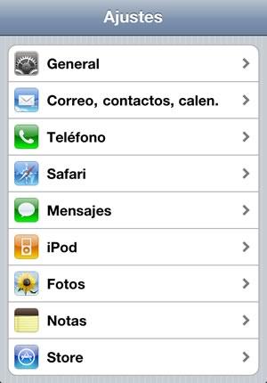 ajustes iphone - blog hostalia hosting