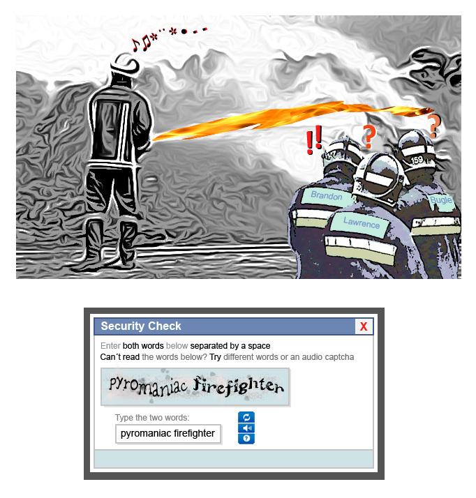 pyromaniac firefighter - blog hostalia hosting