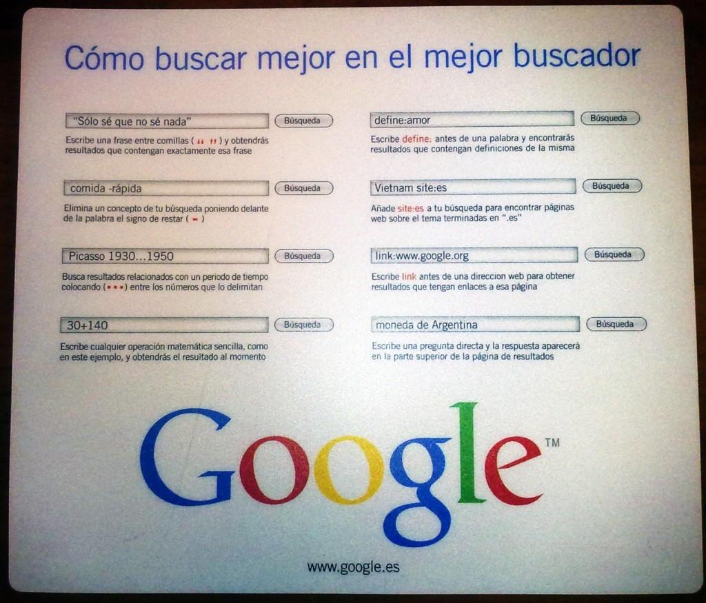 tecnicas para buscar con google - blog hostalia hosting