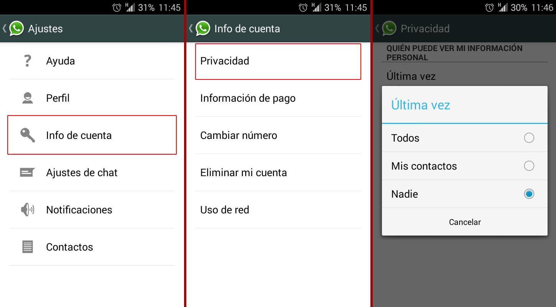 desactivar-hora-conexion-whatsapp-android-blog-hostalia-hosting