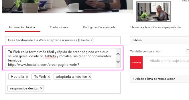Cómo transcribir automáticamente un vídeo para incluirlo en la descripción de YouTube y mejorar tu SEO