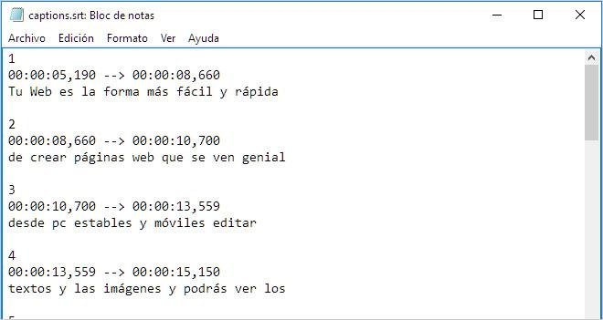 Convertir un archivo de subtítulos .srt en texto limpio