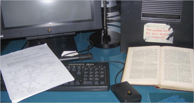 El Doctor Hosting visitó el CERN para ver el primer servidor web de la historia