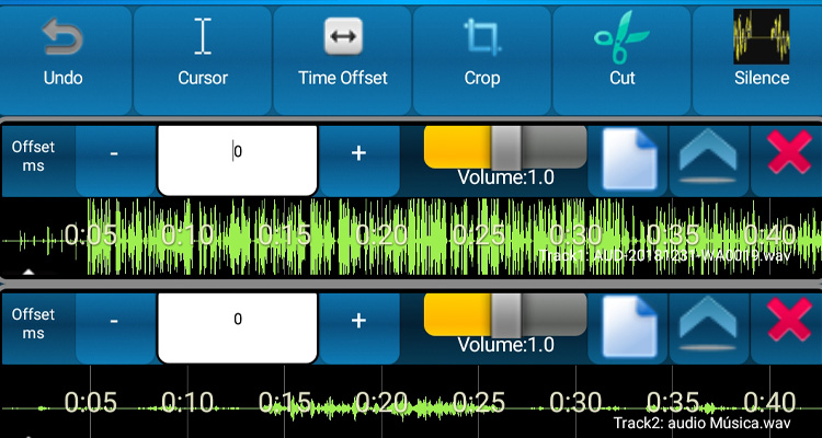 Edita música en tu móvil con Audio Mix Studio #DoctorHosting