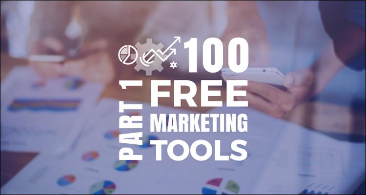 100 herramientas gratuitas para hacer tu propio marketing #Infografía