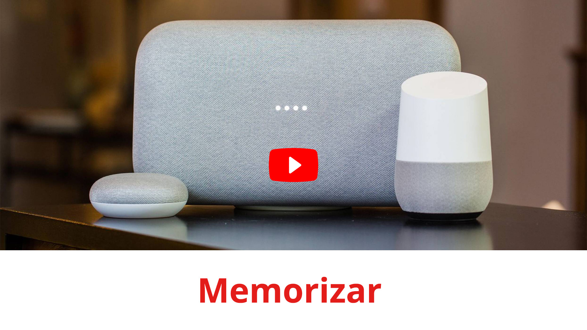 Lista de comandos de voz de Google Home en España