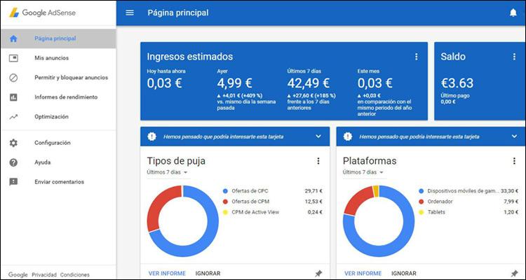 Cómo utilizar Google Adsense en tu página web #WhitePaper