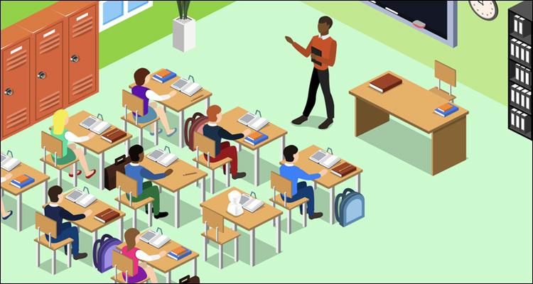 El robot AV1 va a la escuela para evitar el aislamiento del alumno