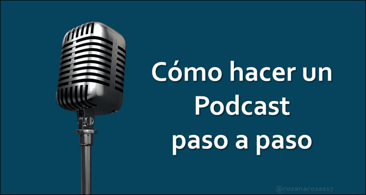 8 pasos para hacer tu podcast #Infografía