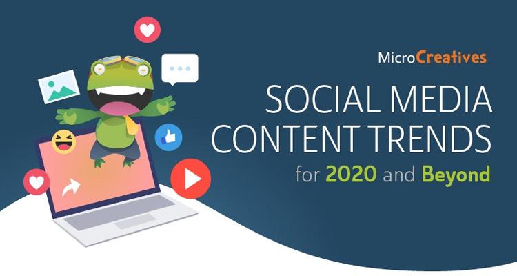 Tendencias de los contenidos en redes sociales para el 2020 y más allá #Infografía