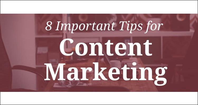 8 claves importantes para el marketing de contenidos #Infografía
