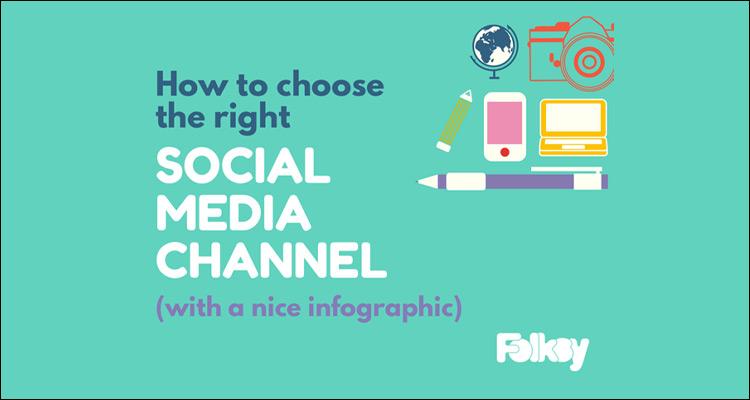 Facebook, Twitter, Instagram o Pinterest, ¿cuál es la Red social más adecuada para tu empresa? #Infografía