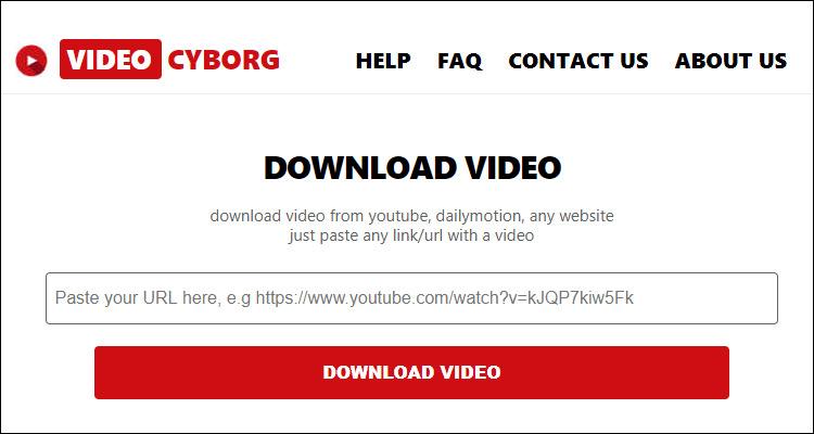 Videocyborg descarga vídeos de cualquier web y transforma cualquier archivo #DoctorHosting