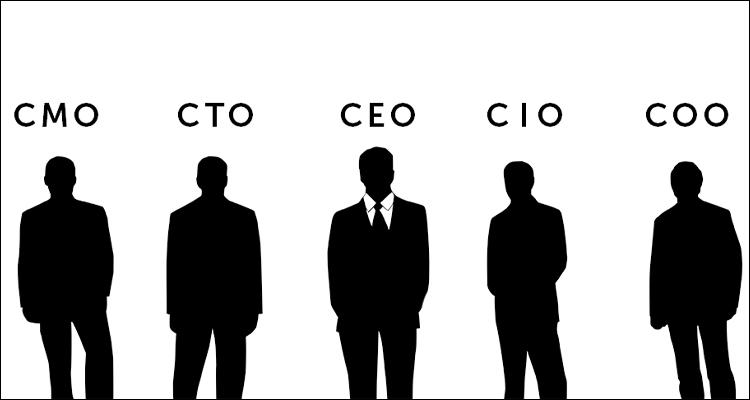 ¿Qué significan las siglas, CEO, CFO, CIO, COO… de los altos cargos de las empresas? #Infografía