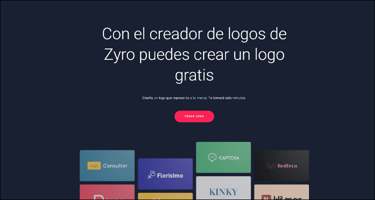 Crea tu logo fácilmente y gratuito con Zyro #DoctorHosting