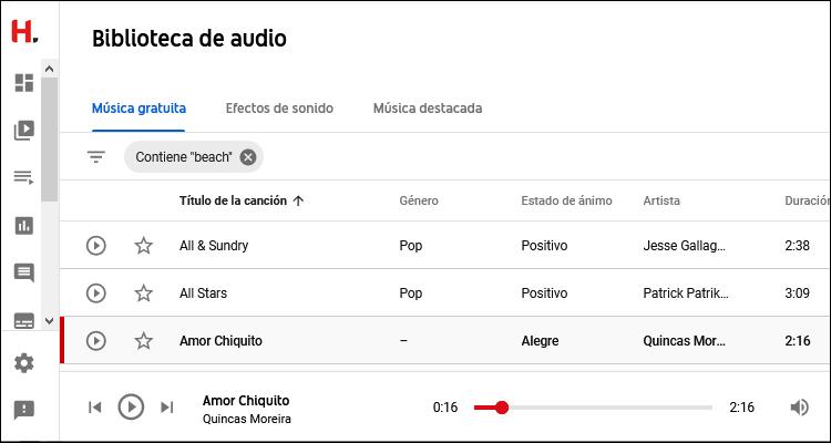 Cómo descargar música y efectos de sonido para tus vídeos de YouTube de forma gratuita y libre de derechos #DoctorHosting