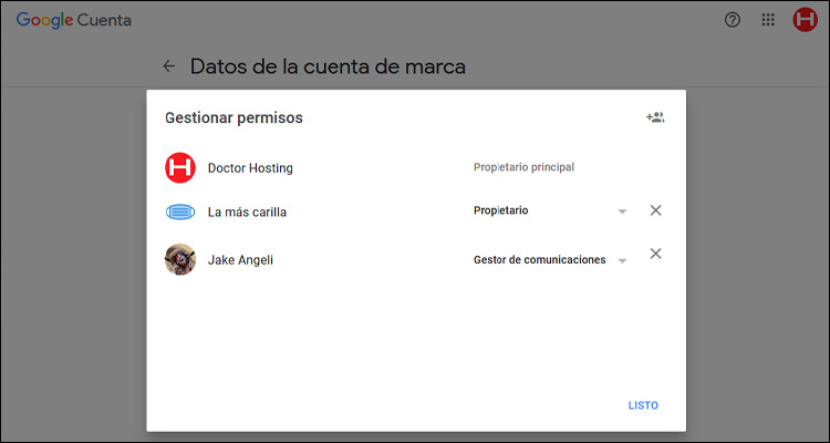 Cómo establecer permisos de usuario en YouTube #DoctorHosting
