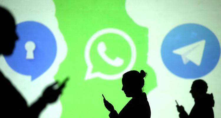 Signal y Telegram ya son más descargadas que WhatsApp #Infografía