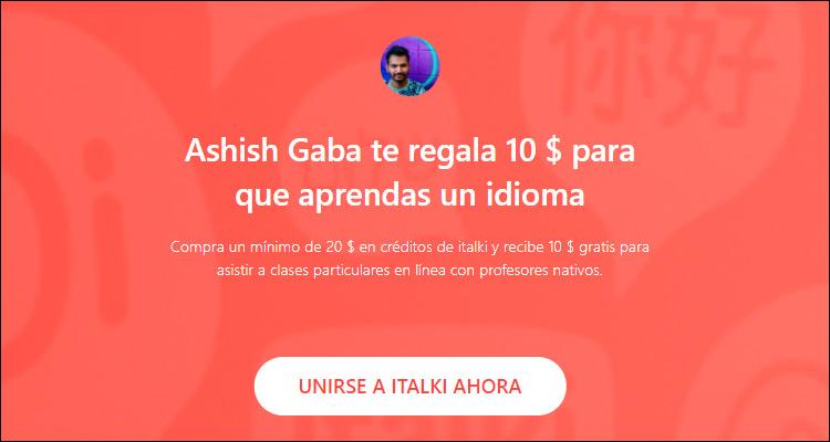 Gana dinero impartiendo clases de idiomas online con italki